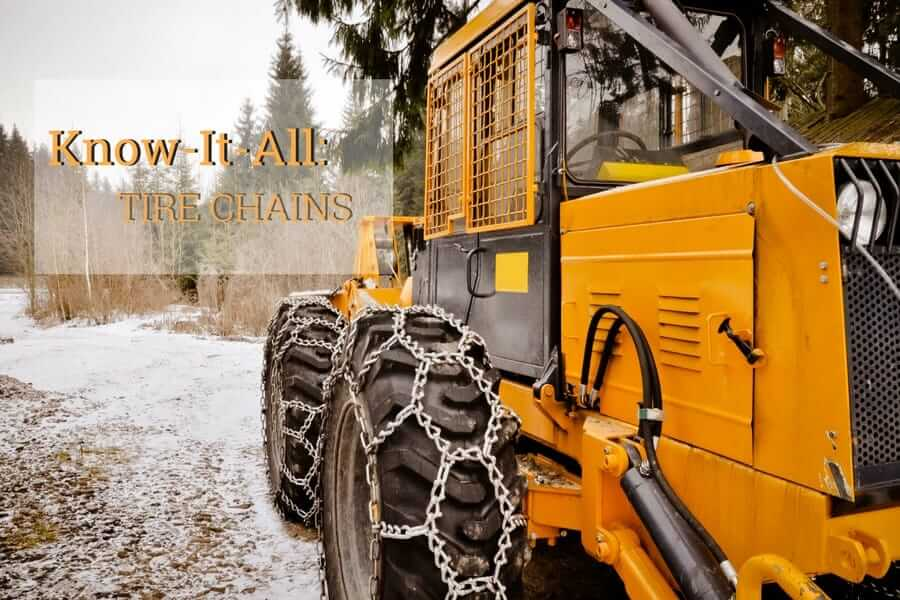 The Basics of Tire Chains