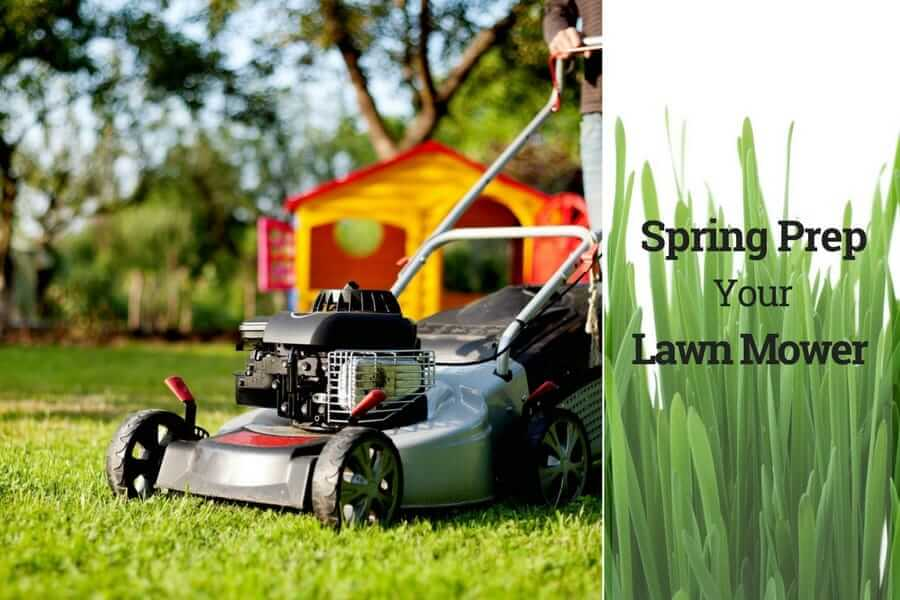 Spring Prep Your Lawn Mower