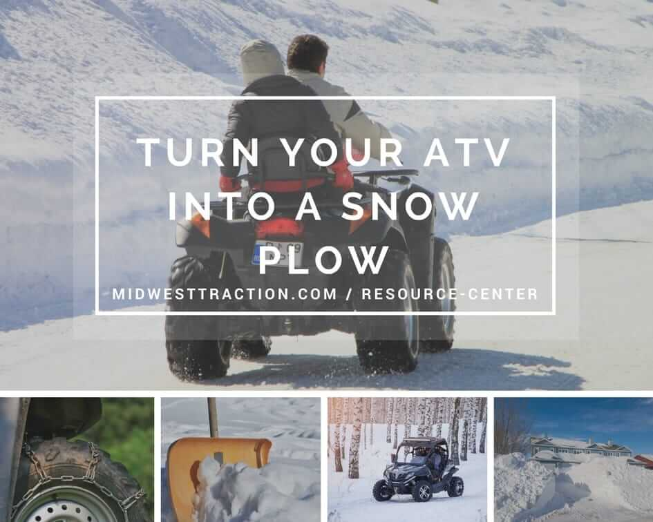 Convert Your ATV Into a Snow Plow