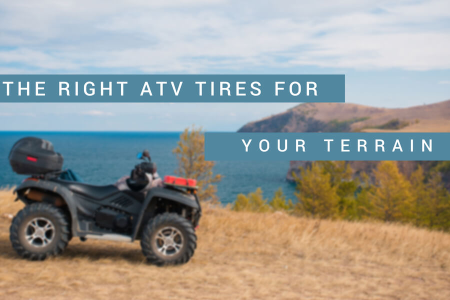 The Right ATV Tires for Your Terrain