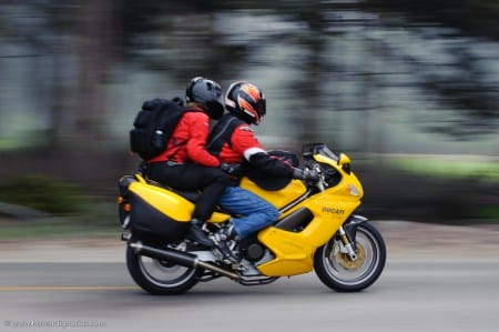 How to Ride Your Motorcycle in High-Speed Wind