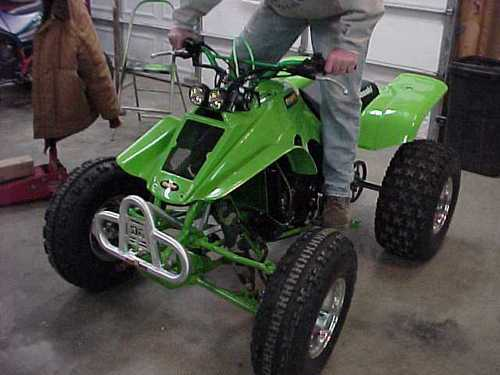 first start up of rebuilt ATV