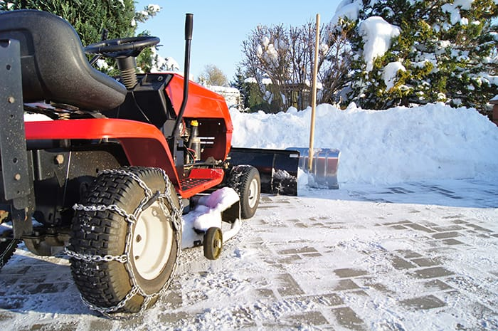 Lawn Tractor Snow Chains