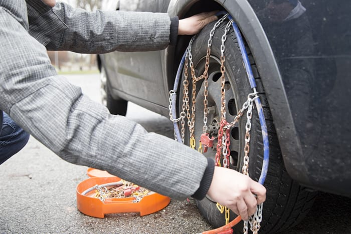 Passenger Vehicle Snow Chains