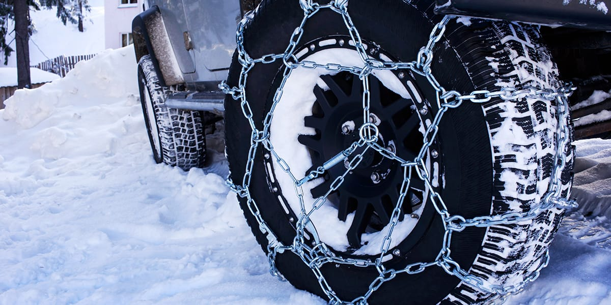 Passenger Vehicle Tire Chains