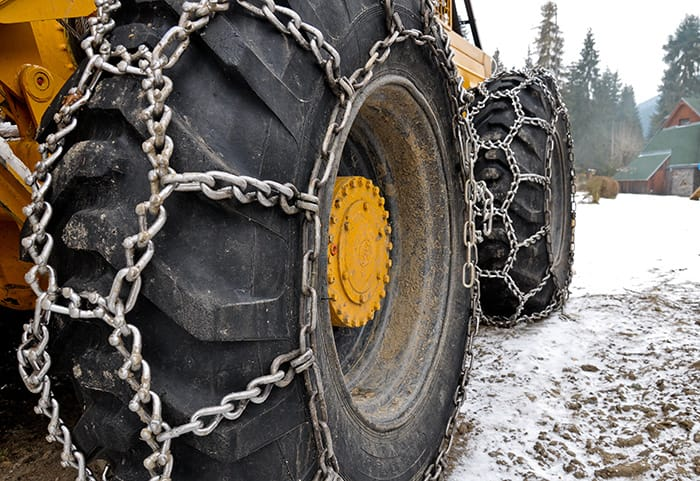 Tractor Snow Chains