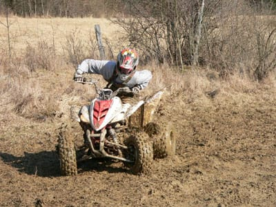 Sand vs. Water and Your ATV Tires