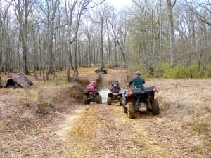 Spring, Mud, and ATV Mudding