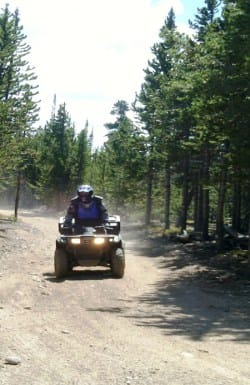 Colorado County Roads Legalize OHVs