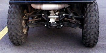 independent rear axle