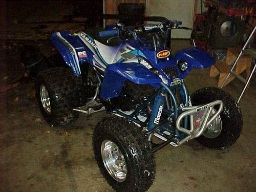 ATV rebuild after 2000 investment